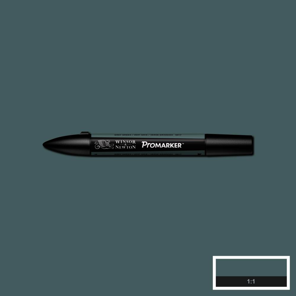 MARCADOR PROMARKER W&N VERDE GRISA SECO G917