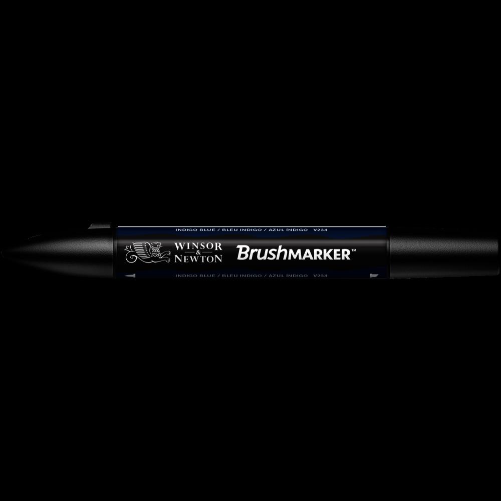 MARCADOR BRUSHMARKER W&N AZUL INDIGO V234