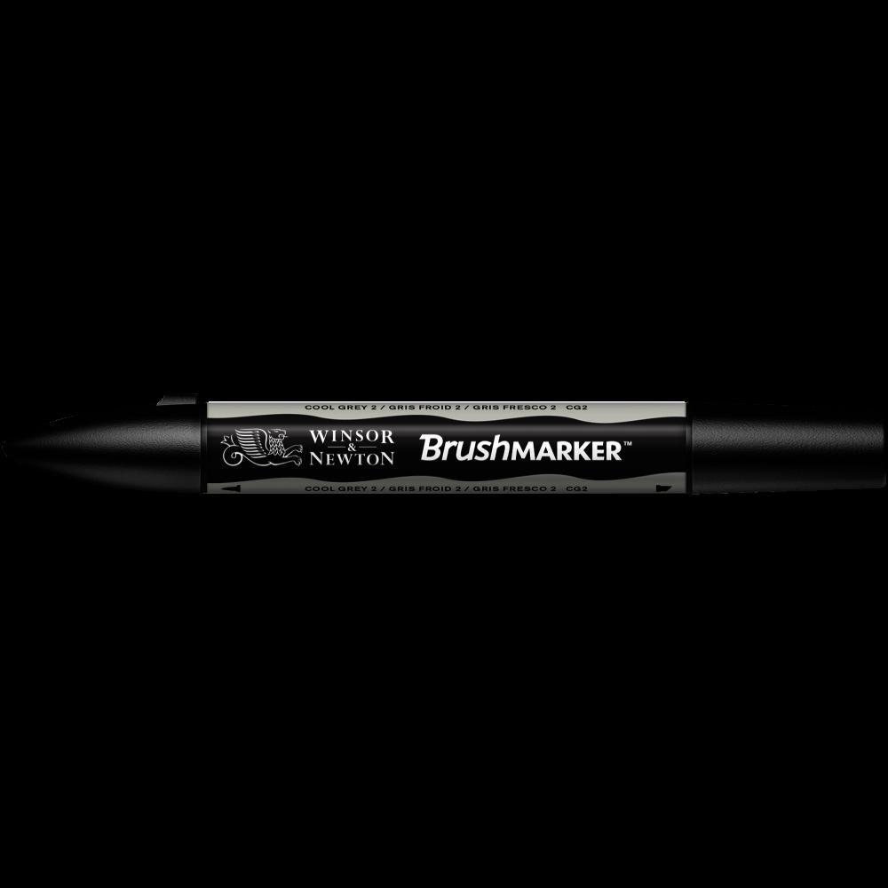 MARCADOR BRUSHMARKER W&N GRIS FRESCO CG2