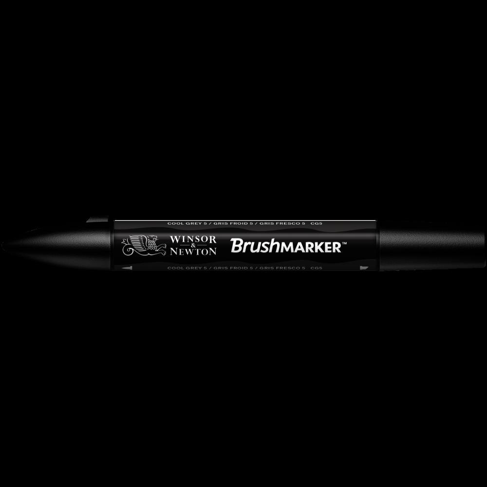 MARCADOR BRUSHMARKER W&N GRIS FRESCO CG5