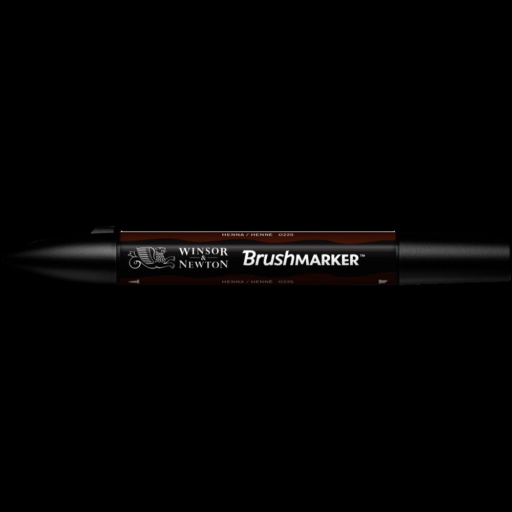 MARCADOR BRUSHMARKER W&N HENNA O225