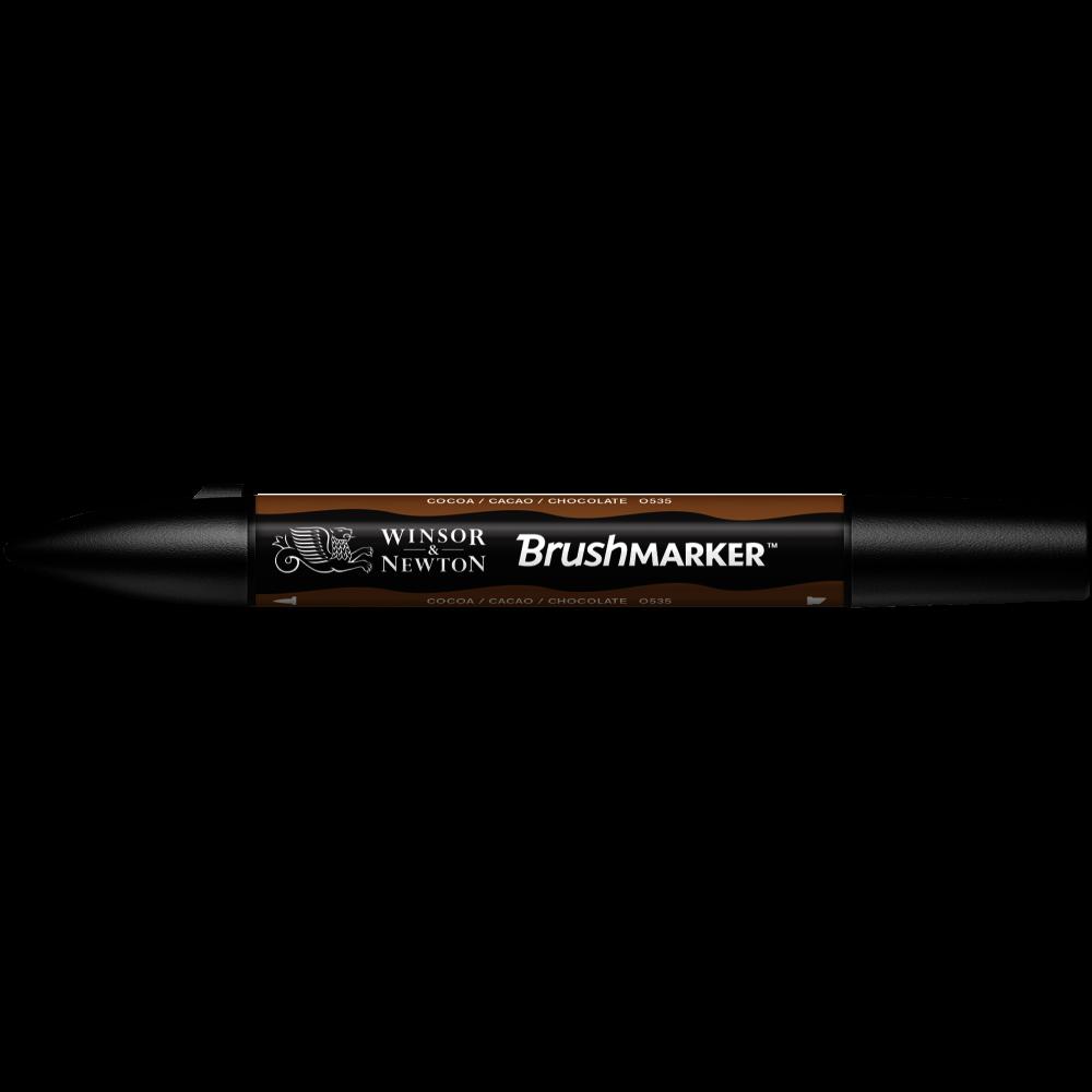 MARCADOR BRUSHMARKER W&N CHOCOLATE O535