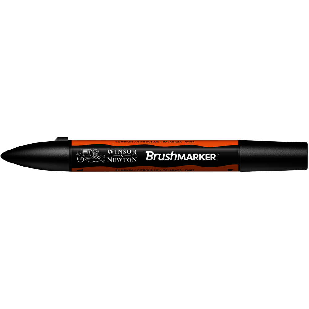 MARCADOR BRUSHMARKER W&N CALABAZA O467
