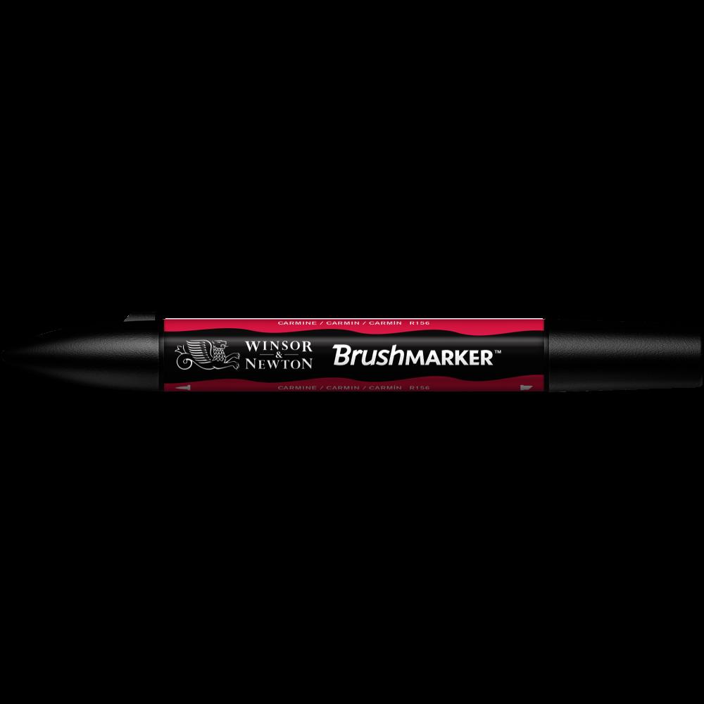 MARCADOR BRUSHMARKER W&N CARMÍN R156
