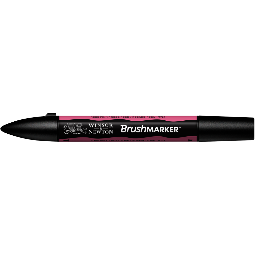 MARCADOR BRUSHMARKER W&N ROSADO ROSA M727