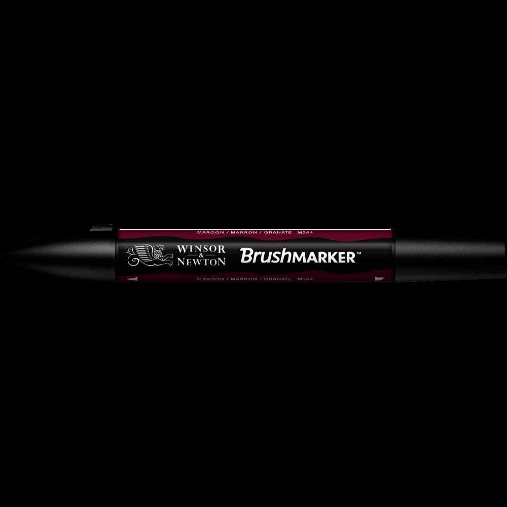 MARCADOR BRUSHMARKER W&N GRANATE M544