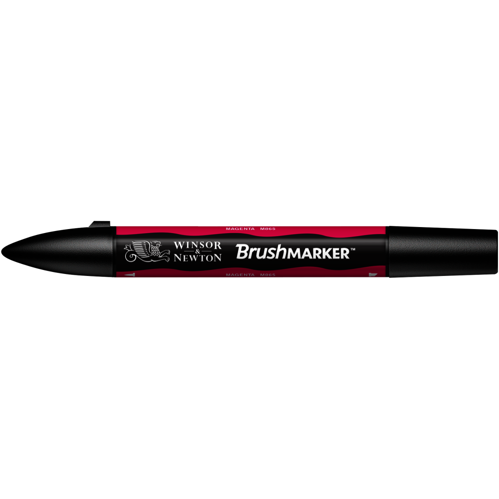 MARCADOR BRUSHMARKER W&N MAGENTA M865