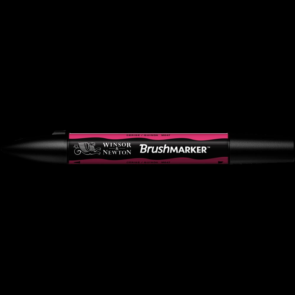 MARCADOR BRUSHMARKER W&N CERISE M647
