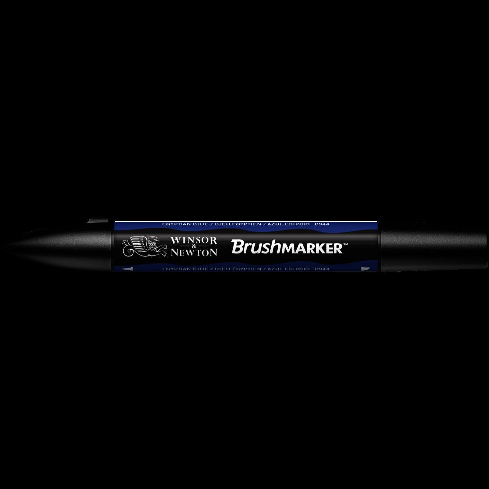MARCADOR BRUSHMARKER W&N AZUL EGIPCIO B944