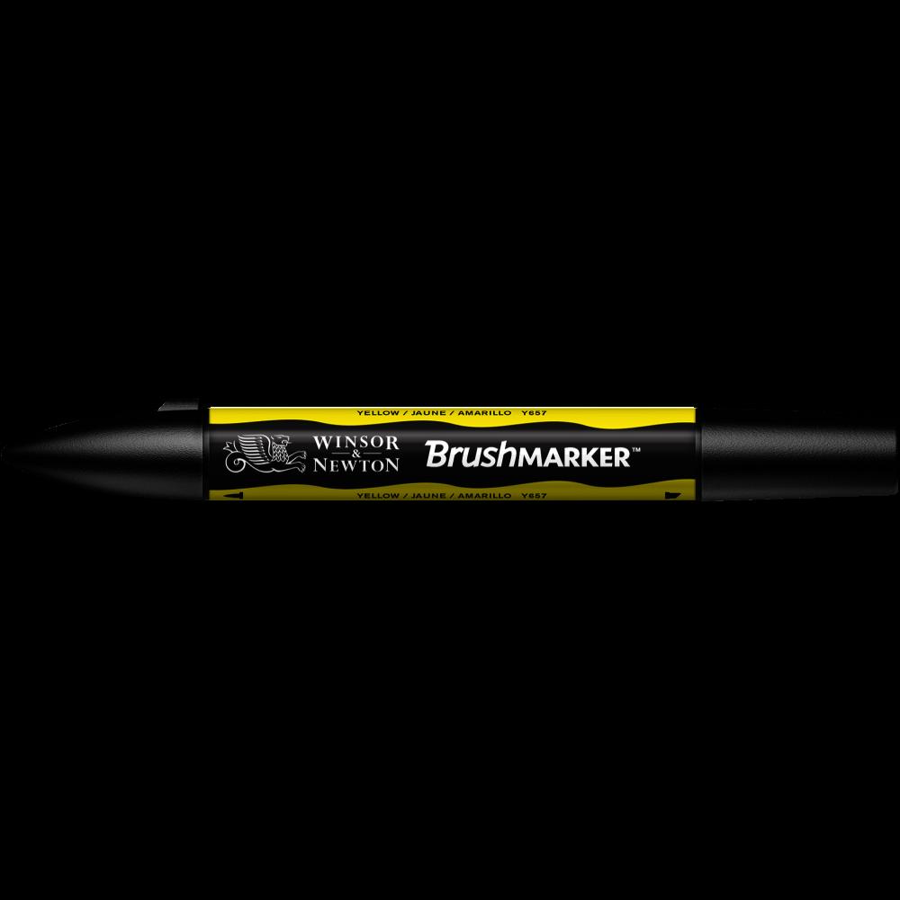 MARCADOR BRUSHMARKER W&N AMARILLO Y657