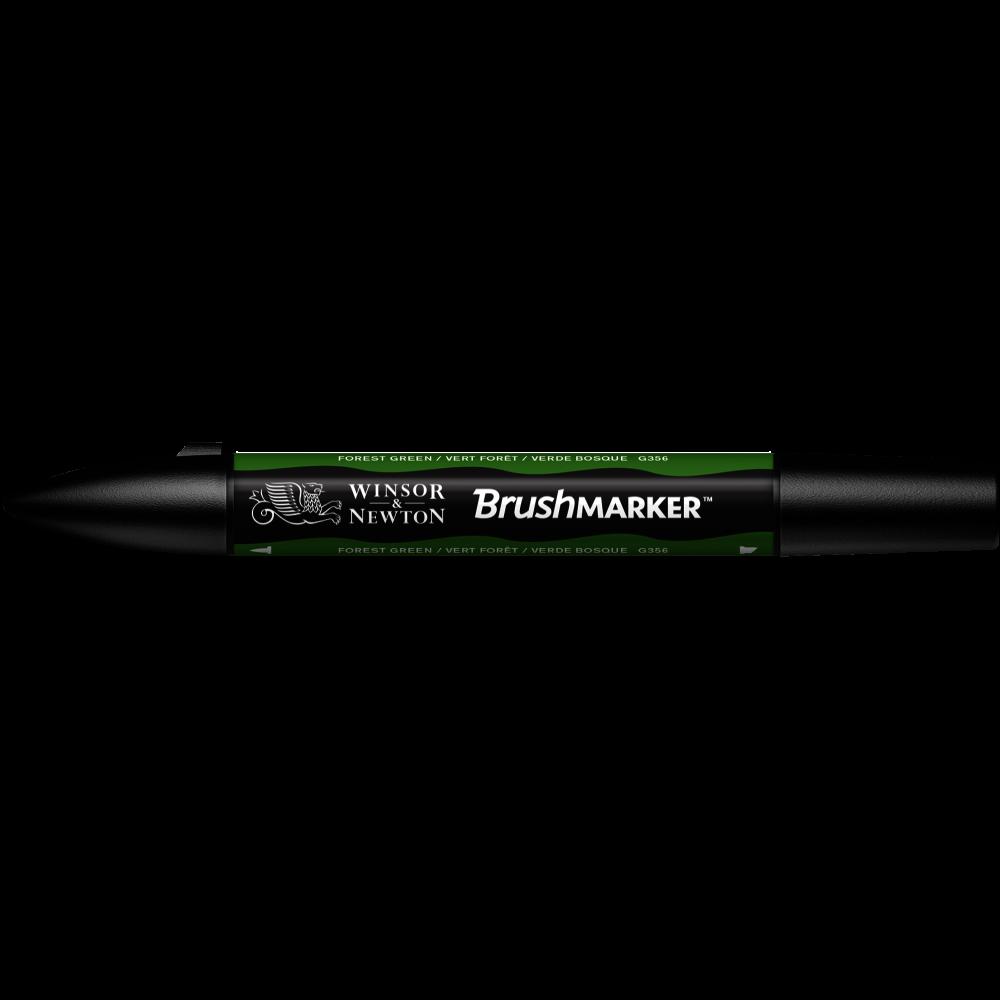 MARCADOR BRUSHMARKER W&N VERDE BOSQUE G356