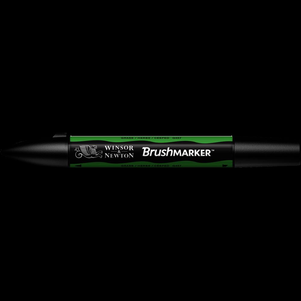 MARCADOR BRUSHMARKER W&N CÉSPED G457