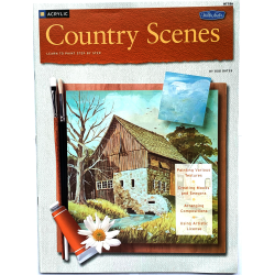 REVISTA WALTER FOSTER HT186 COUNTRY ACRYLIC