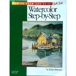 REVISTA WALTER FOSTER HT205 WATERCOLOR STEP