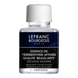 ESCENCIA DE TREMENTINA LEFRANC 75 ML