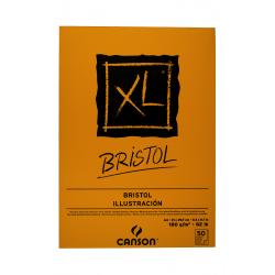 BITÁCORA CANSON XL A4 180G 50H BRISTOL