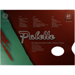PALETA DESECHABLE CONDA22X30CM-40HOJAS A15311