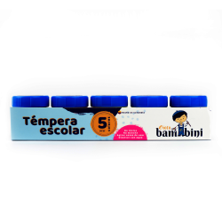 SET GIOTO BAMBINI TEMPERA 30 ML X 5
