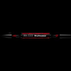 MARCADOR BRUSHMARKER W&N ROJO BAYA R665