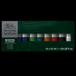 CAJA ÓLEO WINTON 37ML X 10 COLORES RF 1490619